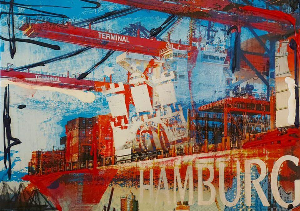 """""""Hamburg"""" von Ilka Wendland"""